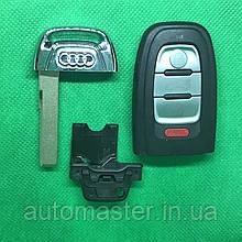 Корпус смарт ключа для американських Audi А3, А4,A4l, А5, А6, А7, А8, Q3, Q5, Q7 (Ауді) 3 - кнопки + Panic