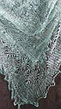 Паутинка Пастели Оренбурга, Ш-00417-1, цвет нежно-зеленый, оренбургский платок (паутинка), фото 2