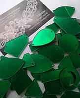 Пришивные зеркала Emerald, микс. 50 штук в уп., фото 1