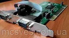 Контролер послідовного інтерфейсу PCI, 2xCOM 9pin MCS9835CV