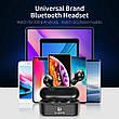Беспроводные наушники (гарнитура) FLOVEME TWS Bluetooth V5.0 Black, фото 3