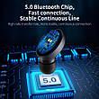 Беспроводные наушники (гарнитура) FLOVEME TWS Bluetooth V5.0 Black, фото 2