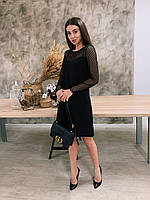 Платье черное К 00550 с 01