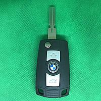 Корпус  ключа для переделки в выкидной ключ BMW E30, Е34, Е36, Е38, Е39 (БМВ) 3 - кнопки, лезвие HU5