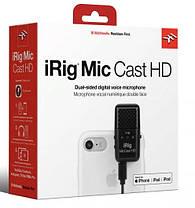 Цифровой микрофон IK MULTIMEDIA iRig Mic Cast HD, фото 2