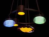 Современная светодиодная люстра, 60W, фото 3