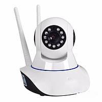 Бездротова поворотна камера Wi-Fi IP-камера з HD якістю, відео няня, фото 1