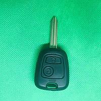 Корпус ключа для Citroen Xsara, Berlingo, Picasso (Ситроен Ксара, Берлинго, Пикассо) 2 - кнопки лезвие SX 9