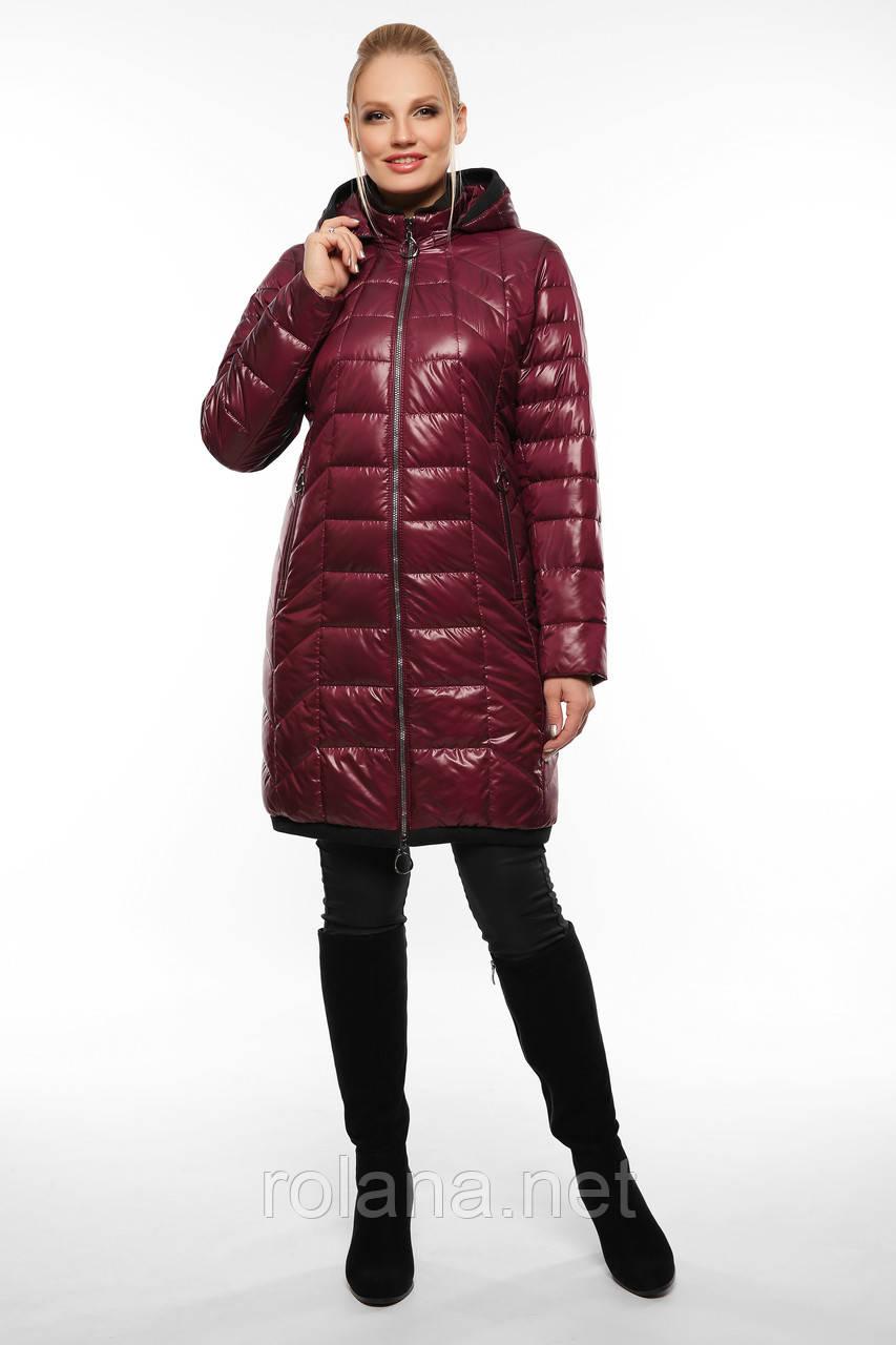 """Женская демисезонная куртка. """"Вишня"""""""