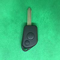 Корпус авто ключа для Citroen Xsara, Picasso, Saxo, Berlingo (Ситроен Ксара, Пикассо, Саксо) 2 кн, лезвие SX9