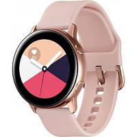 Умные часы Samsung Galaxy Watch Active Розово золотистые