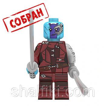 """""""Небула (Марвел)"""" фигурка совместимая с Лего"""