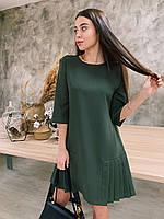 Платье К 00533 с 03 зеленый 48