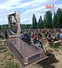 Памятник из жадковского гранита и габбро