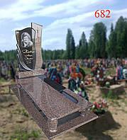 Памятник из жадковского гранита и габбро, фото 1