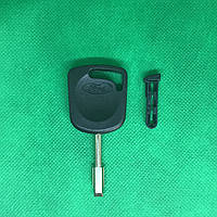 Корпус авто ключ под чип для FORD (Форд), лезвие FO21, с  заглушкой
