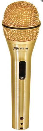 """PEAVEY PVi2G 1/4"""" (Gold) Динамический вокальный микрофон, фото 2"""