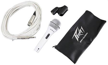 """PEAVEY PVi2W 1/4"""" (White) Динамический вокальный микрофон, фото 2"""