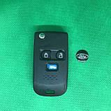 Корпус выкидного ключа для Ford (Форд) Transit под переделку, 3 кнопки, фото 2