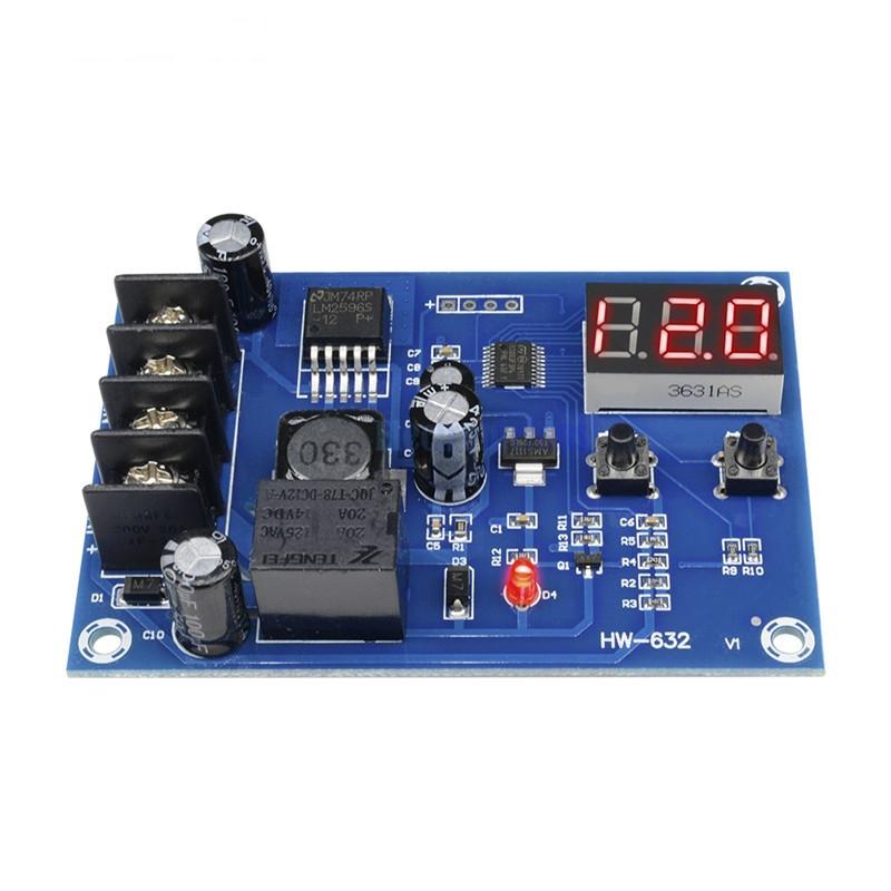 XH-M603 плата модуль управления зарядкой 12-24 В с вольтметром