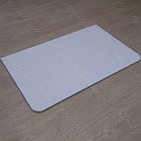 Столешница 800х500х16 мм. для раскладного стола белый гладкий
