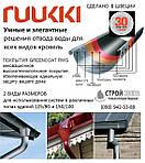 Металлическая водосточная система Ruukki Система D 125mm
