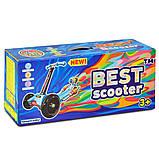 Самокат детский Best Scooter Maxi 1393 светятся колеса, фото 4