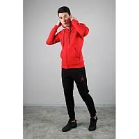 Спортивный костюм NIKE JORDAN 4611 красно--черный Зима