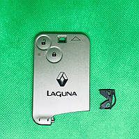 Корпус смарт карты для RENAULT LAGUNA (Рено Лагуна) 2 -кнопки, (без лезвия)