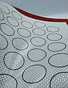 Профессиональный антипригарный силиконовый коврик для выпечки60*40 см, фото 3