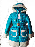 Зимняя куртка-парка для девочки 9-11 лет Barbarris Герда, фото 1