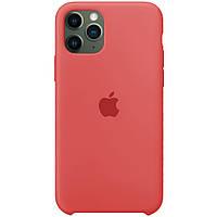 Силиконовый чехол - Silicone Case iPhone 11pro Max Бледно-красный (Camelia)