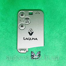 Ключ карта Рено Лагуна Renault Laguna 3 кнопки