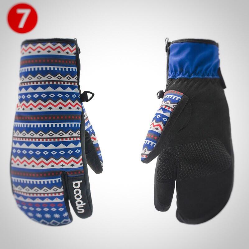 Женские горнолыжные перчатки BOODUN