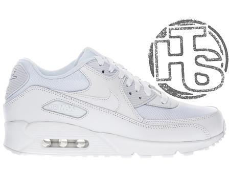Жіночі кросівки Nike Air Max 90 Mesh White 833418-100, фото 2