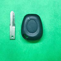 Корпус авто ключа для Renault Laguna (Рено Лагуна) 1 - кнопка, лезвие NE73