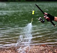 Минисеть с кормушкой для ловли рыбы пружина сеть 2.0*2.0 см
