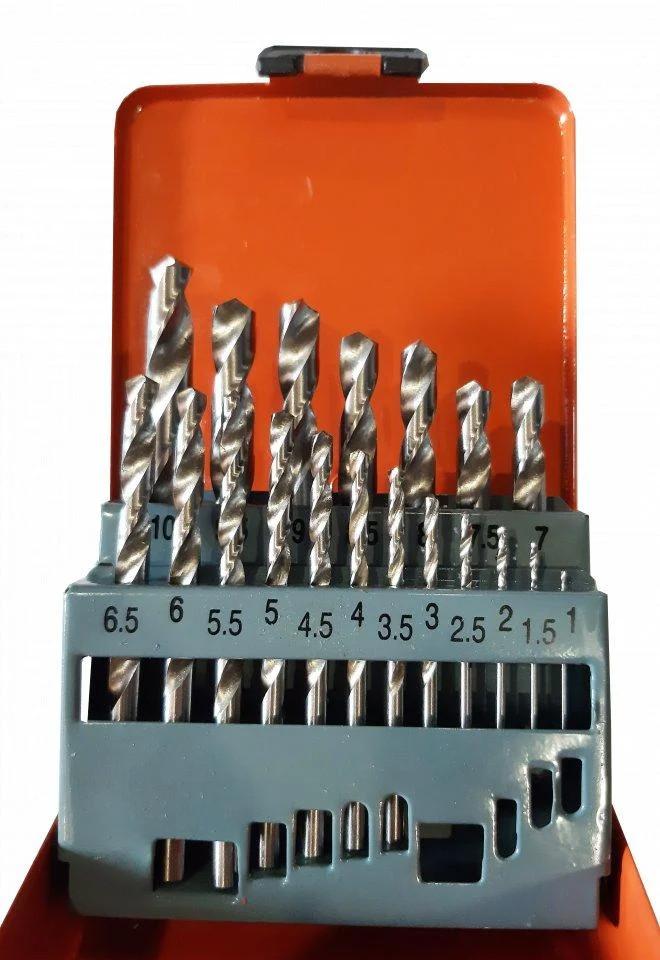 Набір свердел по металу ZHWEI HSS 1-10 мм