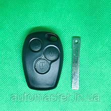 Ключ Рено Трафик Renault Logan Opel Опель Виваро 3 кнопки ЛЕЗВИЕ VA2