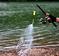 Минисеть с кормушкой для ловли рыбы пружина сеть 4.5*4.5 см