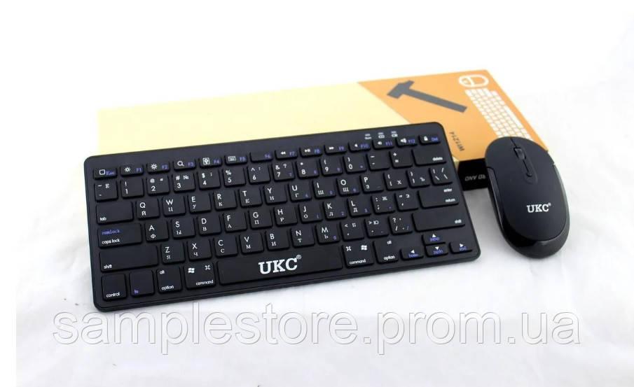 Беспроводная Клавиатура mini и Мышь UKC WI 1214 Keyboard + Приёмник