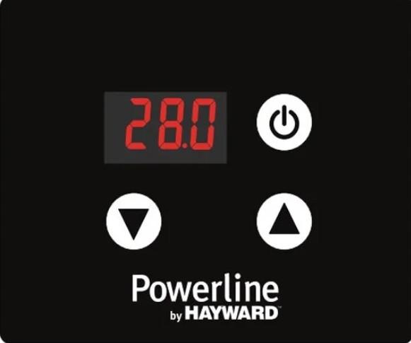 электронная панель управления теплового насоса Hayward Classic Powerline 13