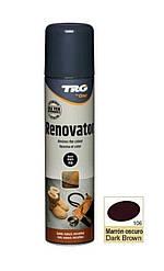 Краска темно-коричневая для замши и нубука TRG Renovator 250ml #106