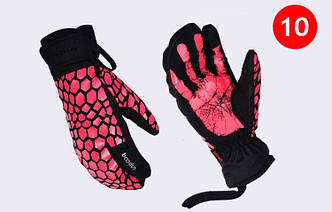 Женские горнолыжные перчатки BOODUN розовый