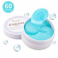 Корейские гидрогелевые патчи для глаз Esedo Collagen & Blueberry 60шт, патчи под глаза