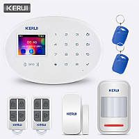 Беспроводная сигнализация Kerui KR-W20, 2,4 дюйма, WiFi, GSM АКЦИЯ!!!