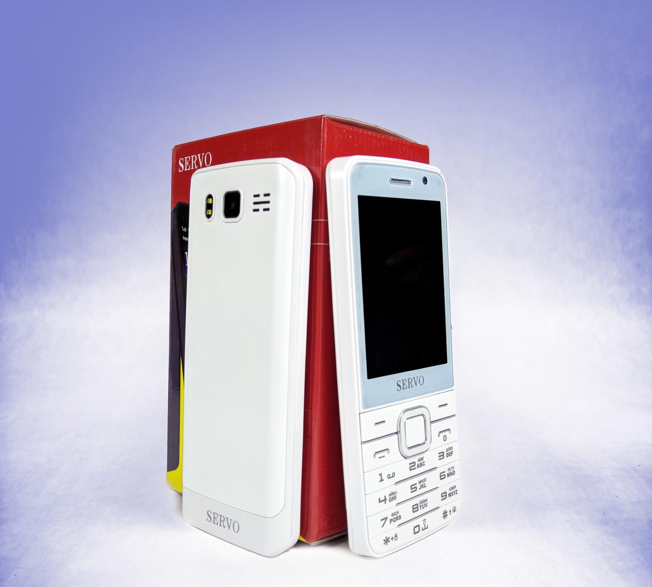 Телефон мобильный SERVO V9500   на 4 Sim-карты + Наушники