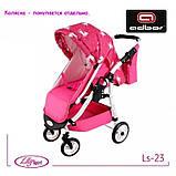 Прогулочный блок к коляске Lily SPORT TM Adbor (Ls-23, розовый, единорожка на розовом), фото 2