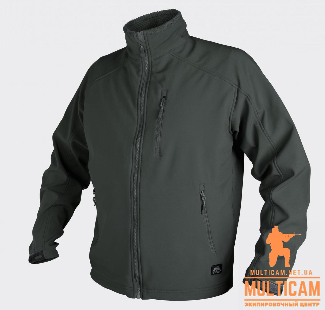 Куртка Soft Shell Helikon-Tex® Delta Soft Shell Jacket - Jungle Green