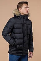 Графитовая зимняя куртка  мужская  Braggart Dress Code.Размер 46-52